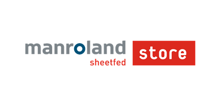 manroland sheetfed printing press web store logo